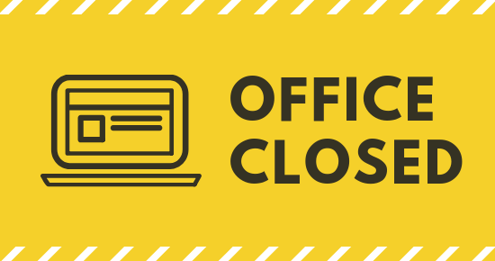 Office Closed August