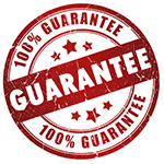 We guarantee - guarantee logo