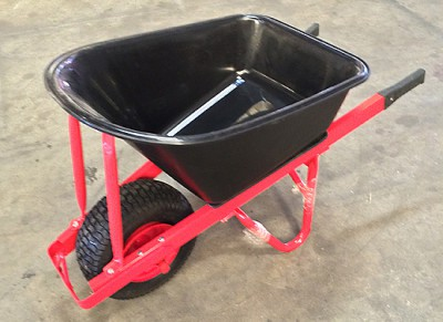 Tools Wheelbarrow Poly