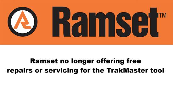 Blog Post - Ramset TrakMaster