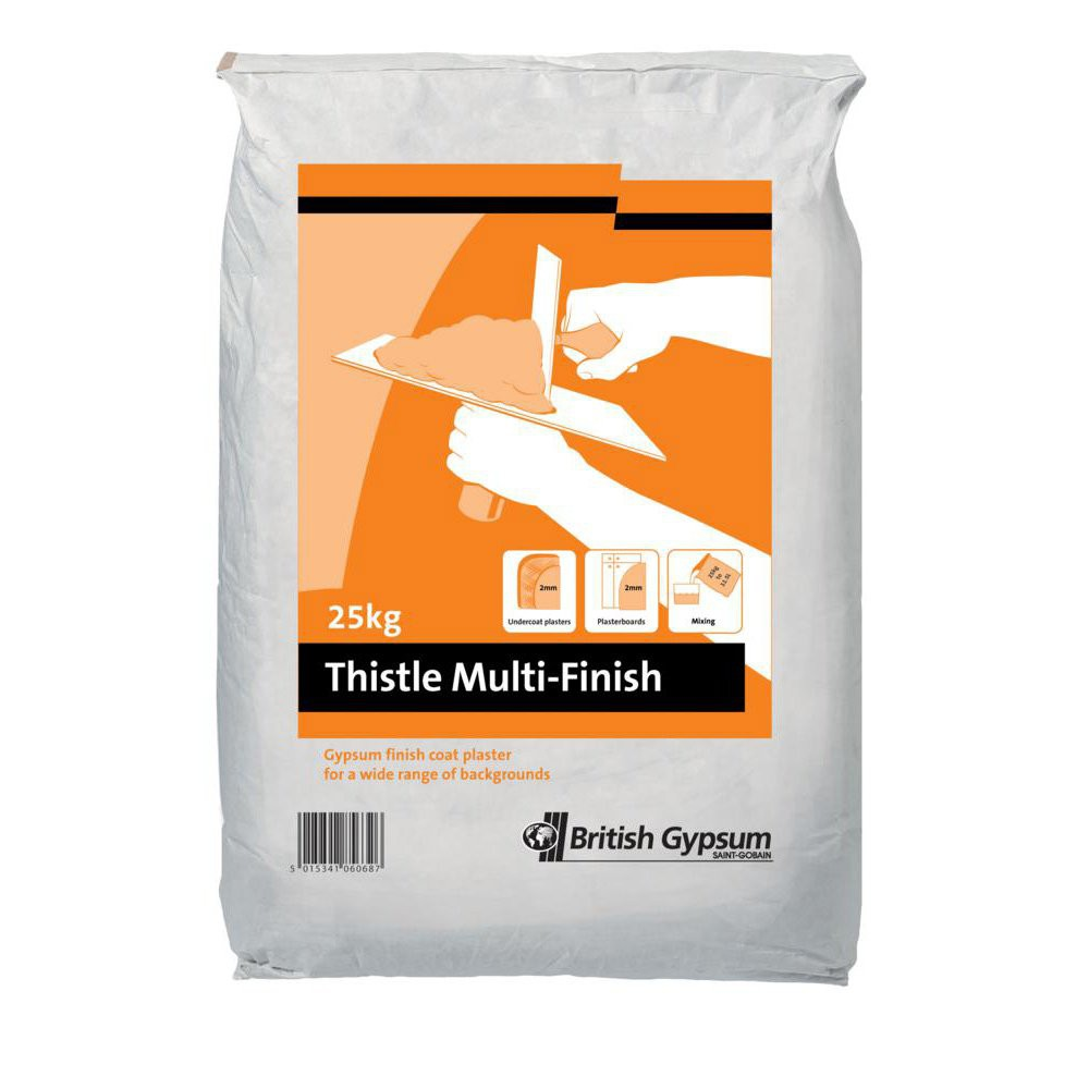 Building Materials - Thistle MultiFinish